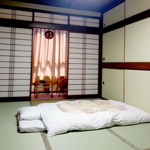 【和室シングルユース一例】お布団でゆっくりお休みください♪