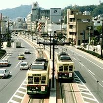 ■観光は路面電車が便利♪■
