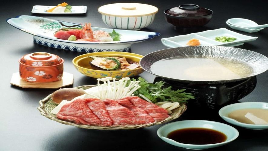 前沢牛会席(夕食付プラン)