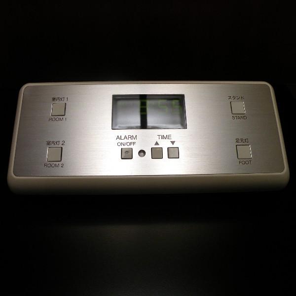 客室のアラーム&照明コントローラー
