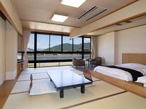 和洋室 12畳とツインベッド
