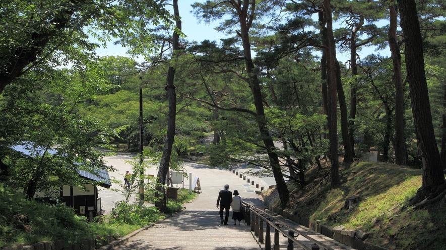 【千秋公園】四季折々の自然が楽しめ散策にも最適。