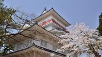 【千秋公園】久保田城御隅櫓のほか園内には番所や表門など歴史を感じるスポットが色々。