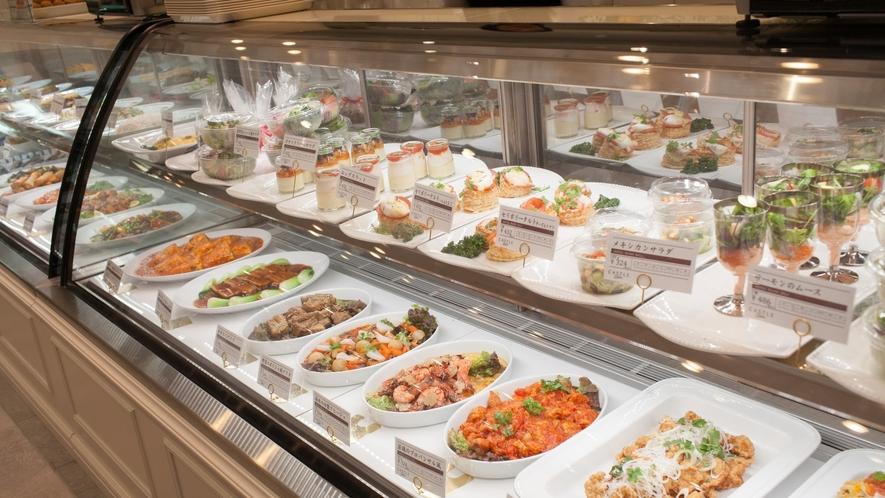 【キャッスル・デリカ】ホテルシェフ特製の洋食・中華・和食のデリカ。