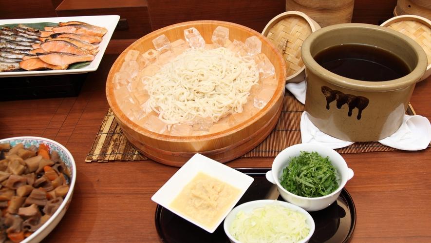 【朝食ブッフェ】秋田の味コーナー