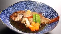 【のどぐろ煮付け(イメージ)】  一年を通して美味しいとされ「白身のトロ」とも呼ばれる高級魚。