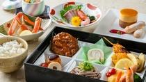 写真はお子様用のお料理の一例です。小学生、幼児のお食事付のお客様のお料理も各種ご用意しております。