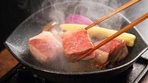【島根和牛ステーキ(イメージ)】お肉の柔らかな食感とジューシーな旨みをお愉しみいただけます。