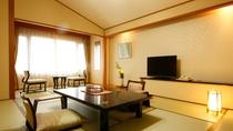 和洋風コンフォート和室<結-YUI>ワンランク上の禁煙ルーム。照明にこだわったモダンデザインのお部屋