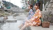 【足湯】温泉街には3箇所の足湯があります。最寄は松乃湯すぐの川沿いです。