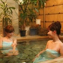 【女性大浴場・露天風呂】