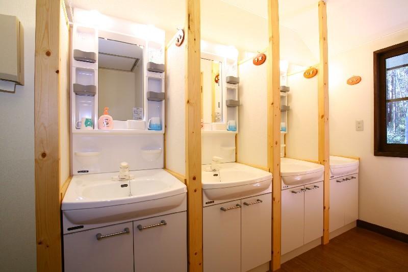 各室専用洗面台