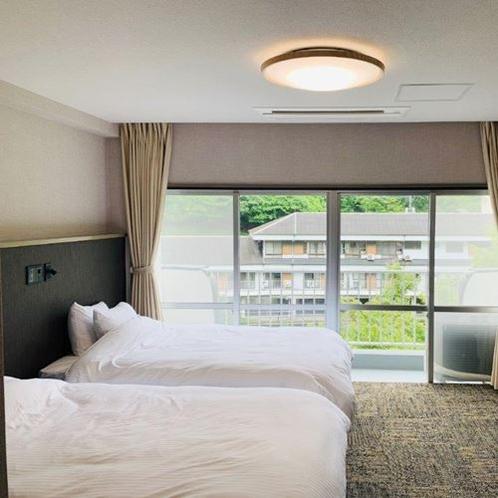 【洋室バリアフリー3F】バリアフリーにも対応したゆったりと過ごせるお部屋です。
