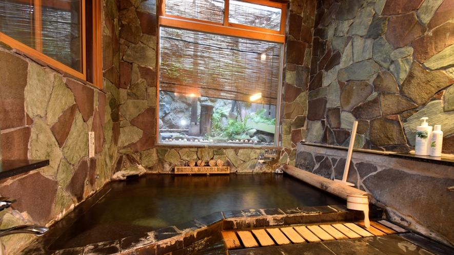 内風呂 貸切時間帯は選択可能