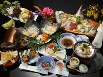 【伊勢えび付き 龍宮城コース】お料理一例