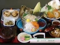 【お料理一例】貝三昧定食