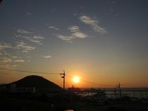 【景色】夕日