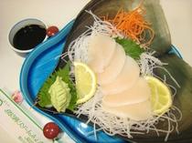 【追加料理一例】平貝のお刺身