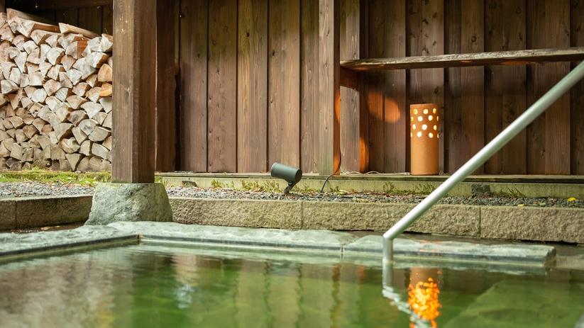 *貸切露天風呂/地場の職人が造った 阿賀の露天風呂を貸切でどうぞ。