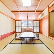 *客室一例/和室10畳畳の香りがほのかに薫るお部屋で寛ぎのひと時を。