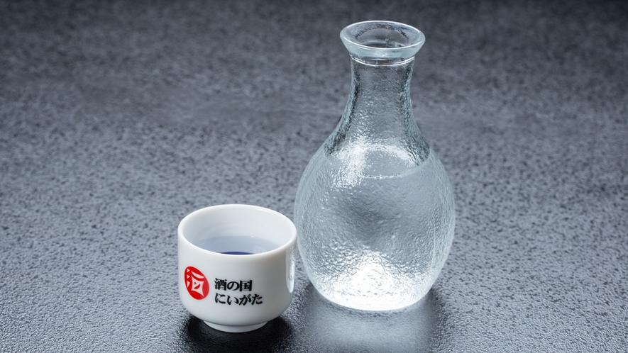 *冷酒/新潟県産の冷酒。夕食のお供に是非ご賞味ください。