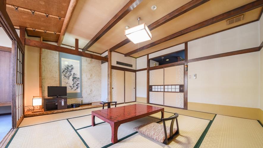 *客室一例/和室10畳非日常の空間で時を忘れ静かに寛ぐ贅沢。