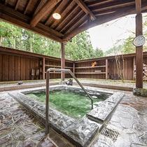 *貸切露天風呂/咲花温泉 源泉を使用しております。