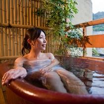 こんぴらさん眺めるあなただけの露天風呂(一例)