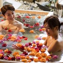 バラ風呂2008