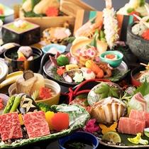 【初音プレミアム専用会席-個室食】<個室食確約>は当プランだけ!特別感溢れる、お料理とともに。