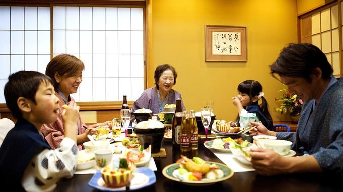 【個室食‐<旬宴>グレードUP会席】海の幸をたっぷりと!<季節の魚介造り&アワビ踊り焼き> 3密回避