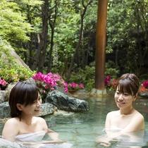 花てらす露天風呂2009