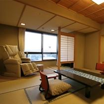 【花くらぶ】マッサージ機付客室(一例)