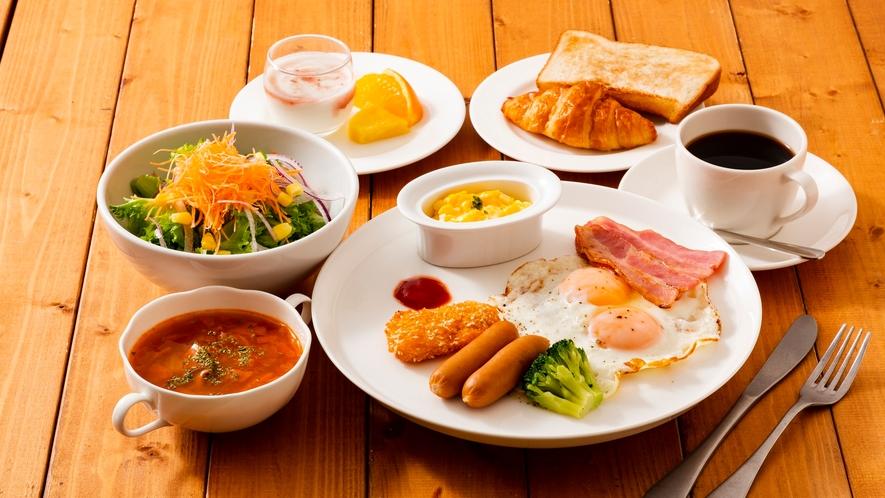 【朝食イメージ】洋定食