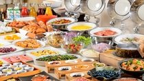 【朝食】和洋バイキング<60種類以上>料理(イメージ)