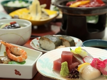 夕食/季節の和食会席料理(イメージ)