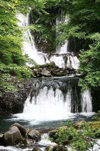 上高地の滝