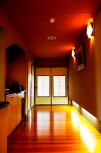 別館特別室部屋内廊下