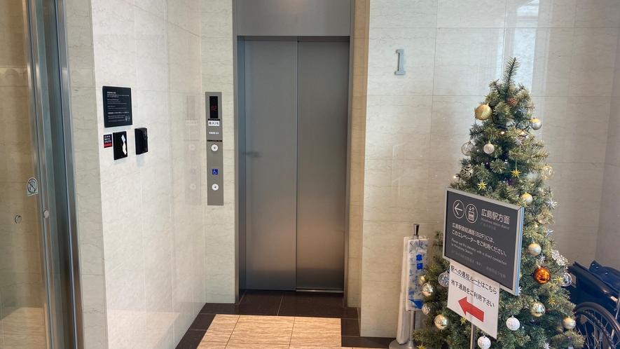 16-9 地下直結エレベーター