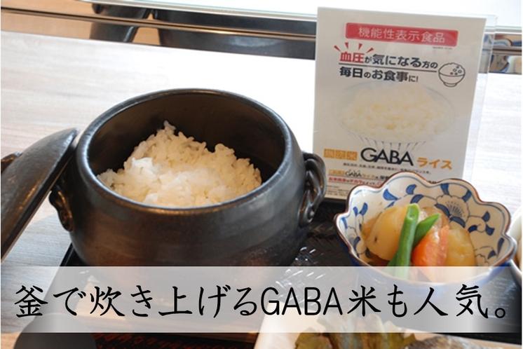 お一人様づつ炊き上げるGABA米