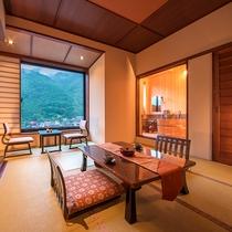 ◆半露天風呂付客室10畳 ◆