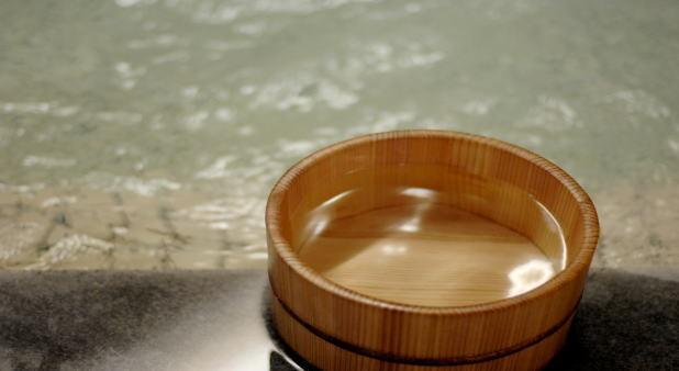 温泉(桶)