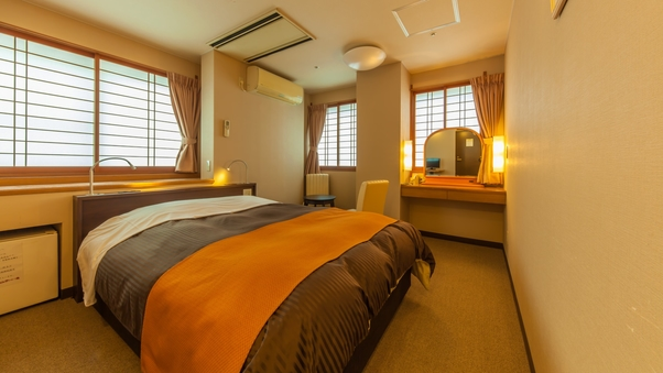 【眺望無し】小さめ洋室ダブルベッドルーム(15平米)