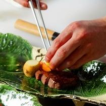 【『谷の茶屋』かまど料理】かまど料理だけでなく、先付から一品一品お出しいたします。