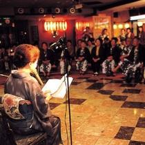 ■女将の紙芝居・笑顔座■ゆかいな話、おばけの話などを女将が1話朗読しています。