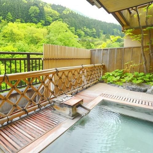 ■貸切展望風呂■貸切風呂は全部で4つ。有料、予約制(先着順)となっております。
