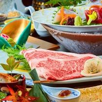■上州牛すき焼き会席■群馬県ブランド肉として名高い「上州牛」を使用したすき焼き会