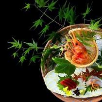 ■特選創作会席 極み■新鮮な材料をその場で調理した、料理長自慢の当館最高峰懐石。