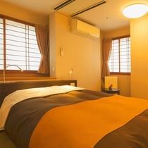 ■洋室ダブルベットルーム■お手軽旅行に最適♪ダブルベットルーム一例