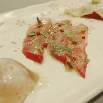 古橋亭の魚料理2